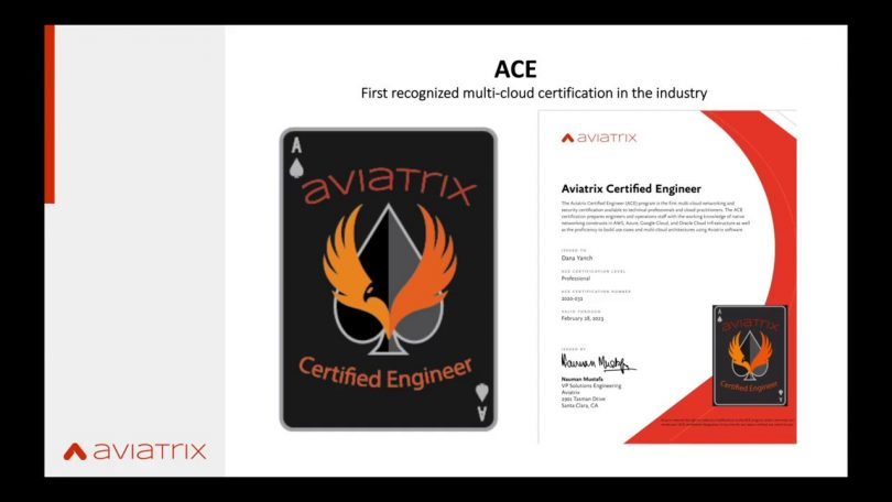 All you need to know about Earning An Aviatrix ACE Certification