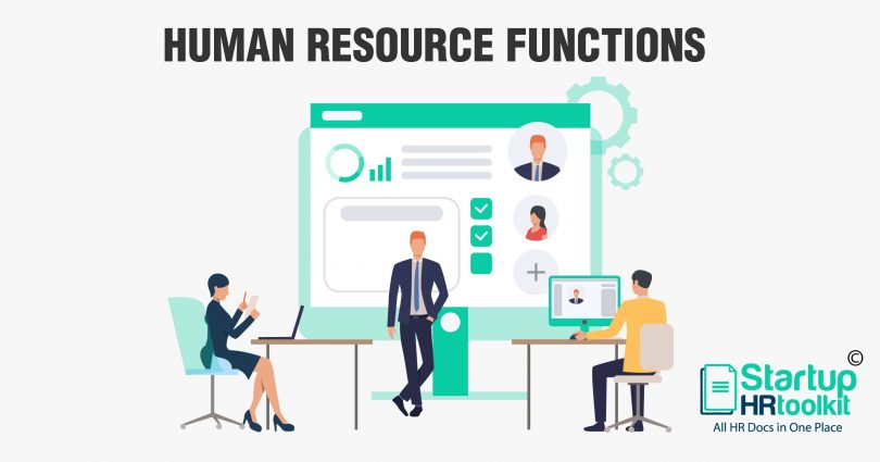 Key Functions of the Human Resource Department