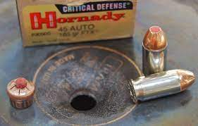 Should I Purchase Hornady Critical Duty 9mm or .45 ACP?